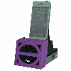 Speaker Cradle with Rechargeable Battery (Purple Face)