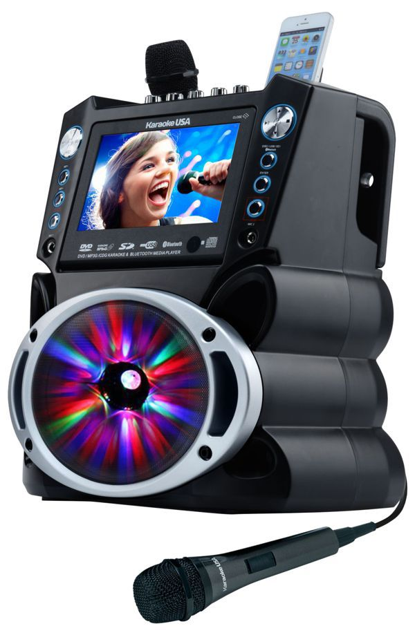 DVD/CDG/MP3G Karaoke Machine with 7