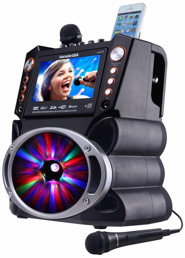 DVD/CDG/MP3G Karaoke Machine with 7