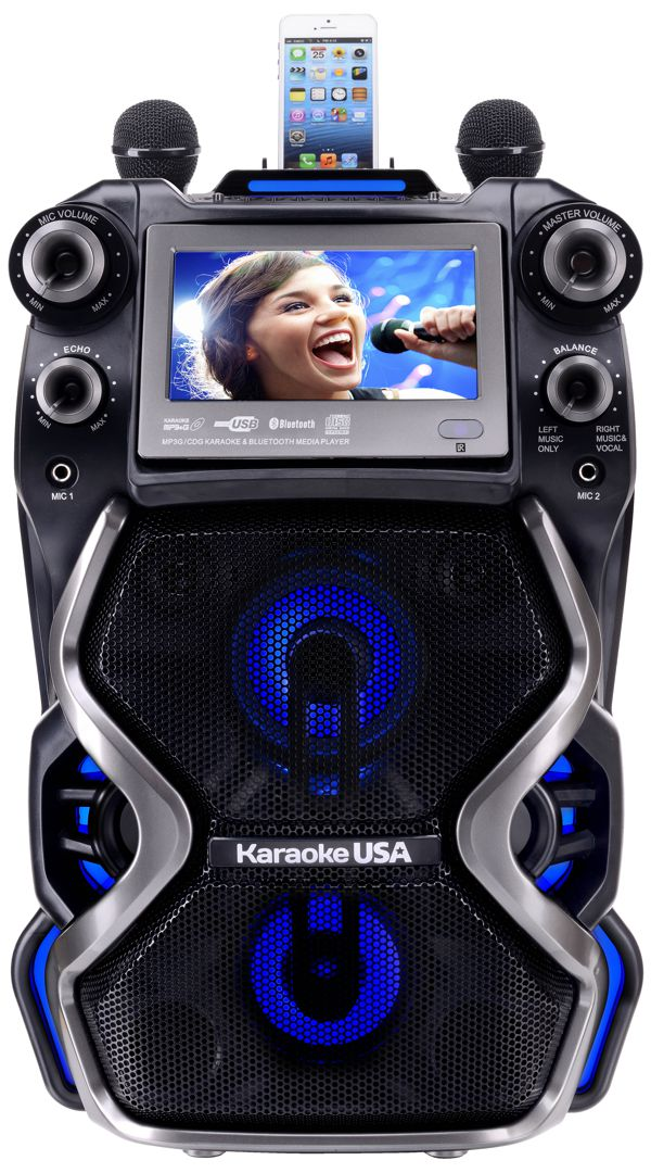 Portable Professional CDG/MP3G Karaoke Player, 7
