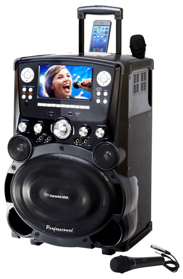 Professional DVD/CDG/MP3G Karaoke Player with 7