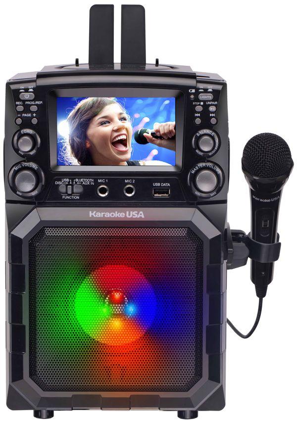 Portable CDG/MP3G Karaoke Player with 4.3