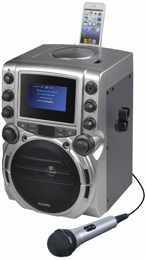 CDG Karaoke Machine with 4.3