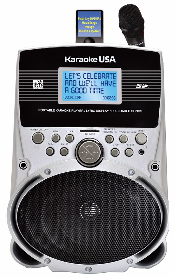 Portable Karaoke MP3 Lyric Player with 3.2