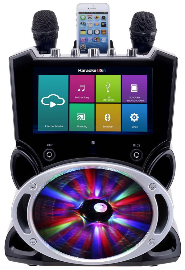 Complete Wi-Fi Bluetooth Karaoke Machine with 9