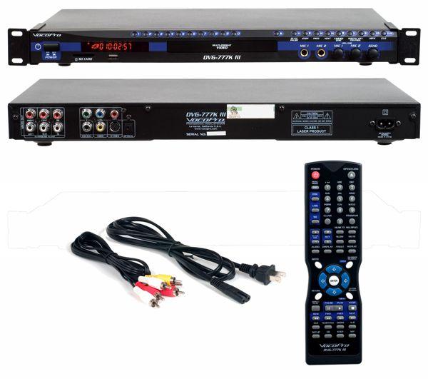 Multi-Format USB/DVD/CD+G Player