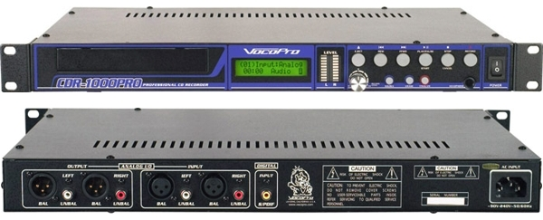 Professional Single Rack CD Recorder/Player