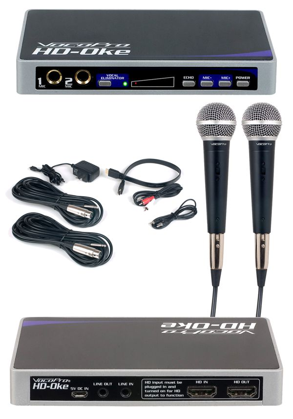 The Ultimate Karaoke Add-On For Sound Bars and Home Theater Systems with HDMI Connections
