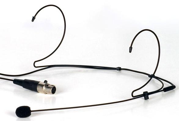 Super Light Earclip Headset for UHF/VHF Body-Pac