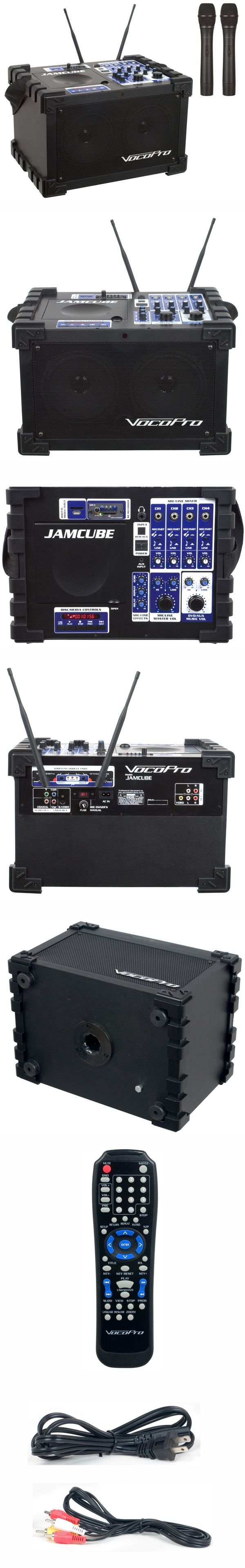 100W Stereo All-In-One Mini PA/Entertainment System (Set 3 - Freq A, B)