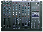 9 Channel Pro KJ/DJ Mixer with Digital Key Control and 7 Band Graphic Equalizer