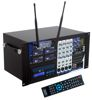 Four Channel Wireless All-In-One P.A. System (Freq 4)