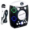 Projector Oke CDG/Bluetooth Karaoke System with LED Projector