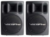 Professional Stereo 400W Powered Vocal Speakers