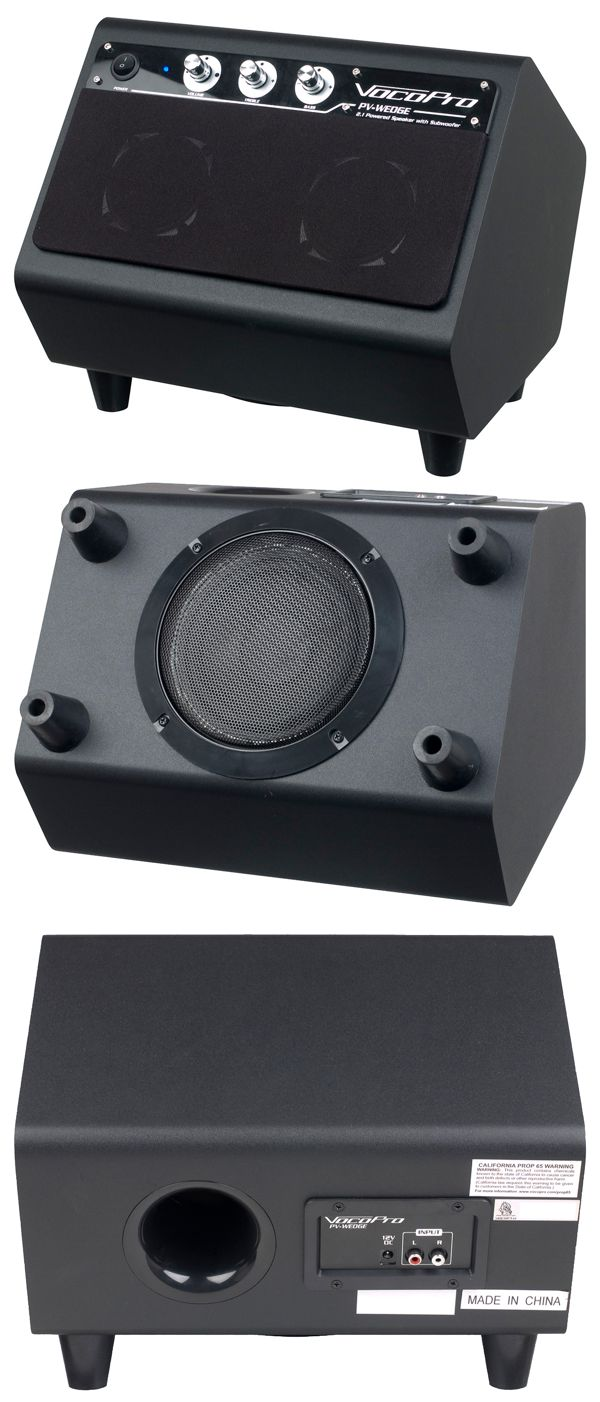 100W 2.1 Powered speaker with build-in subwoofer