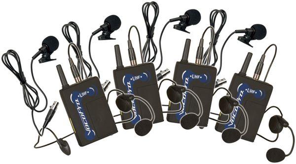 UHF Wireless Bodypack Microphone UHF5800 (Freq: A, B, C, D) and UHF8800 (Top Row)