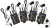 UHF Wireless Bodypack Microphone UHF5800 (Freq: A, B, C, D) and UHF8800 (Top Row)