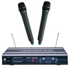 UHF-Dual Channel Wireless Microphone System