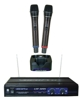 UHF-Dual Dual-Channel UHF Rechargeable Wireless Microphone System
