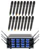 16 Channel PLL Wireless Mic package with frequency scan and IR sync