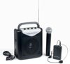 VoiceCaster Rechargeable Portable PA System with Wireless Mic (196.5 MHz)