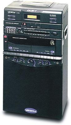 80W Semi-Pro DVD/CDG/VCD/MP3 Multi-Format Karaoke System