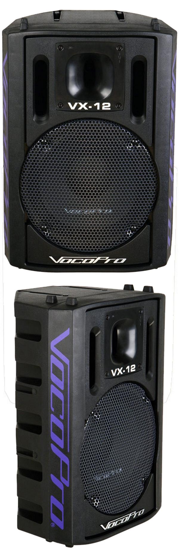 500W Professional 12 inch Karaoke Vocal Speaker (Sold Per Each)