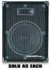600W Professional 15 inch Vocal Speaker (Sold Per Each)